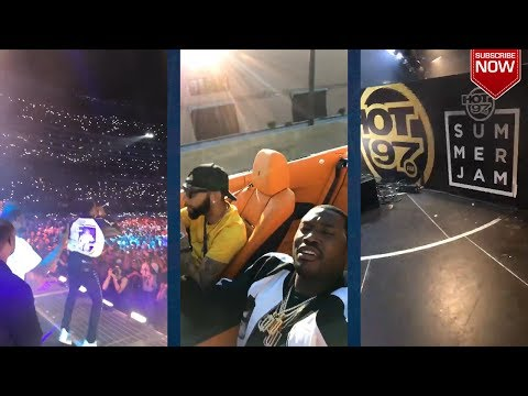 Meek Mill and Tory Lanez Shut Down Hot97's Summer Jam! Litty Again!