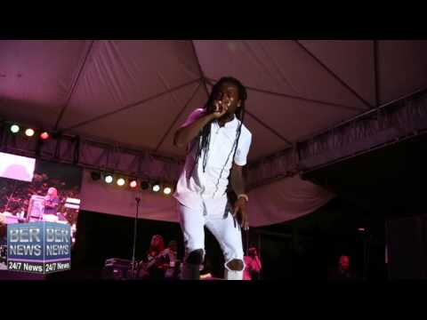 Jah Cure Live Performance At Cup Match Summer Splash #Bermuda
