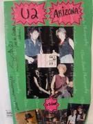 U2 Arizona Photo History Poster Board