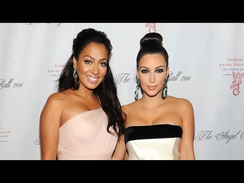 Kim Kardashian & Lala Anthony at Met Gala in New York!
