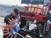 Driver of River Rat Signing RC Plastic Shell
