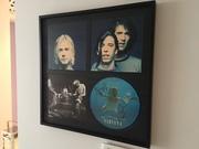 Nirvana SLTS frame on wall
