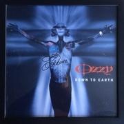 Ozzy Osbourne autographed record flat