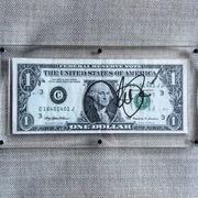 Al Pacino full signature dollar bill