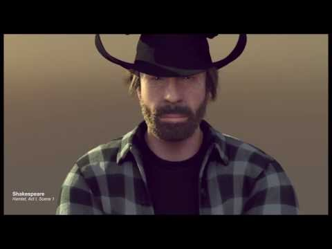 Greetings from Chuck Norris - The epic christmas split
