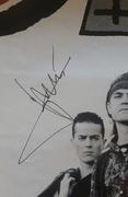 Heroes del Silencio Autograph Autografo