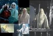 Sir Christopher Lee as Saruman
