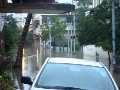 Rain and flooding in Karachi, 13 Sept