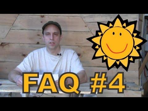 FAQ #4 - Aquaponics - Geodesic Dome - Rocket Mass Heater