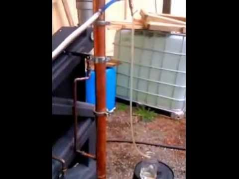 Making ethanol with a Wiseway Pellet Stove