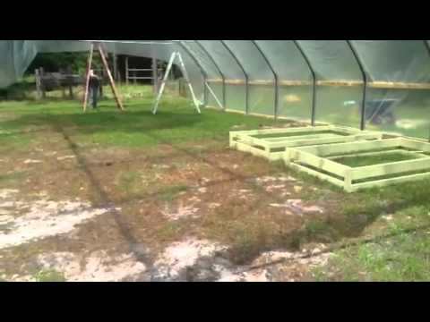 Aquaponic greenhouse