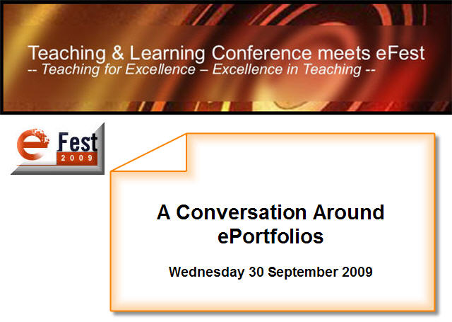 A discussion: ePortfolios - how are they supporting 21st Century learners?
