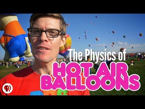 The REAL Physics of Hot Air Balloons!