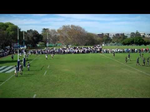 Tim Swiel try Bishops 1st team 2010 vs SACS