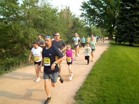 Start of the Nielson 2-Mile Challenge, June 4, 2011, in Colorado Springs