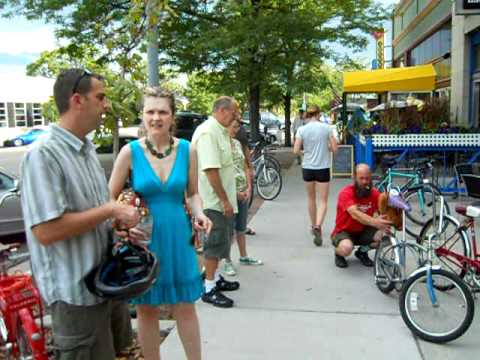 The Joy Ride: bicycles popsicles, good music and cool people