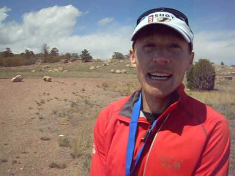 Ryan Burch wins the Cheyenne Mountain Trail Race 50K