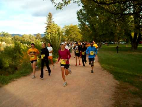 Start of the Colorado College Tiger Classic 5K