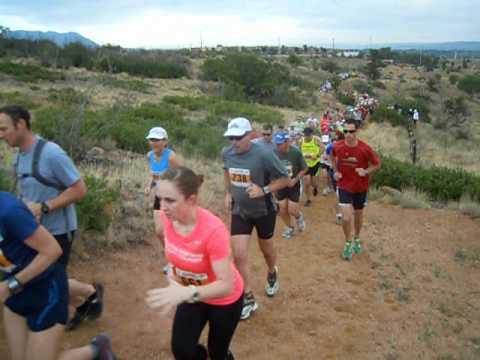 Start of the 2012 Summer Roundup Trail Run
