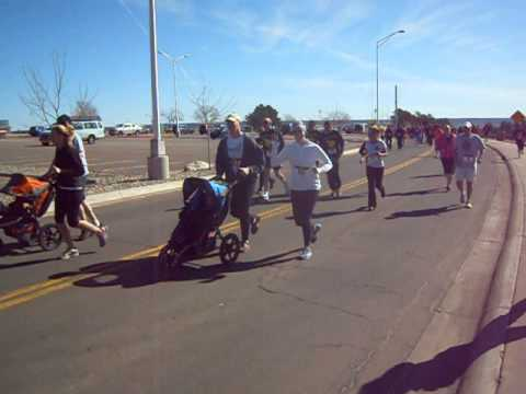 Start of the Brain Booster 5K on Saturday, March 30, at the Air Force Academy