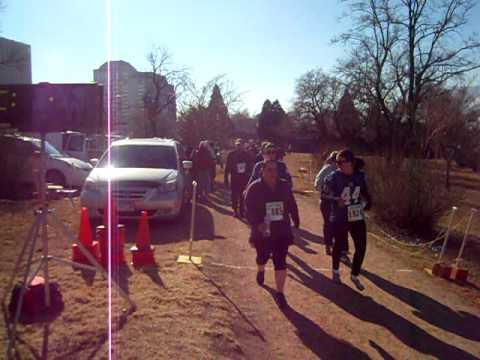 Start of the inaugural Super 5K Family Run