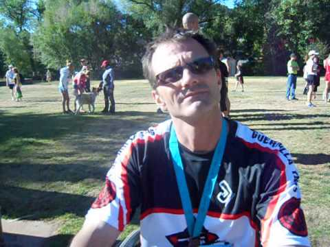 Ross Osborne becomes first to race wheelchair in the Garden of the Gods