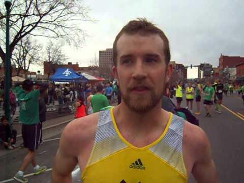 Scott Dahlberg wins 5K on St. Patrick's Day