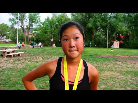 Jenny Smith, 16, wins the Garden of the Gods 5K