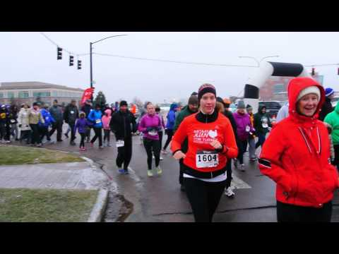 Start of the Turkey Trot 5K