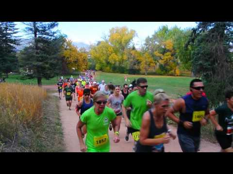 Start of Fall Series II race in Monument Valley Park