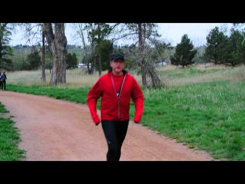 Start of the inaugural Tonia's Run in Colorado Springs