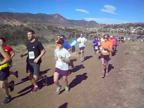 Start of Fall Series III race at Ute Valley Park
