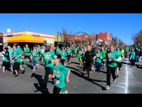 Start of the 2015 5K on St. Patrick's Day