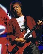 Bill Wyman Autograph colour photo [The Rolling Stones]