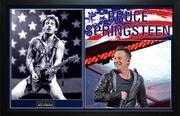The Boss Bruce Springsteen Custom Display