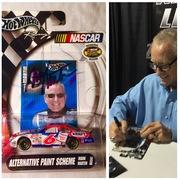 #13-91, NASCAR, HOF, MARK MARTIN, Signing 1_64 sca..._