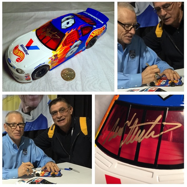 #4-46, NASCAR, HOF, MARK MARTIN, Signing 1_24 scal