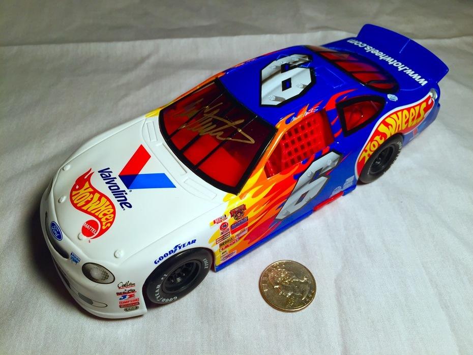 #4-46, NASCAR, HOF, MARK MARTIN, Signing 1_24 scal..._