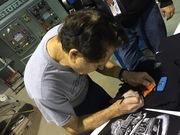 #22-32, Customizer, Gene Winfield, Signing, Blade