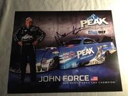 #46C-264, NHRA, John Force, Signing, 2017, Peak, h