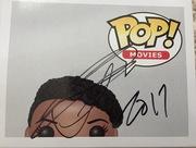 Leslie Jones Signed Pop close up
