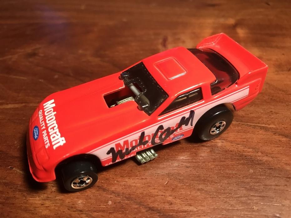 #21-48, NHRA, Mark Oswald, Signing, Hot Wheels, Motorcraft, Funny Car, 1/64 scale,