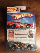 #14-19, NHRA, Tony Pedregon, Fox Sports, Signing, Hot Wheels, 2006, Advance Auto Parts, 2 pack,