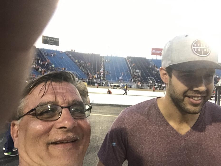 With, Blackhawks, Cory Crawford, Hockey, NHL,  , 2017, NHRA, Nationals, at, Route 66, drag way, 7/8/2017