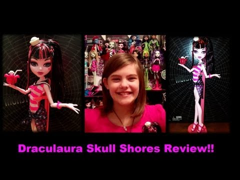 Monster High Draculaura Skull Shores Doll Review