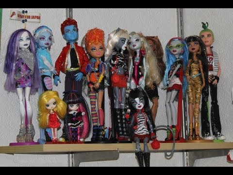 The Monster High Doll's Monster HIgh Doll Collection March 2012 Update