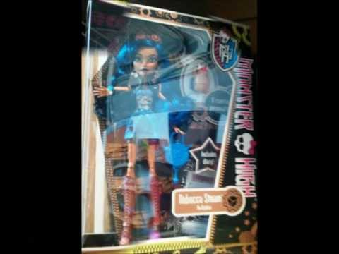 New Monster High dolls! 2012 Venus McFlytrap,Robecca Steam,Jackson Jekyll