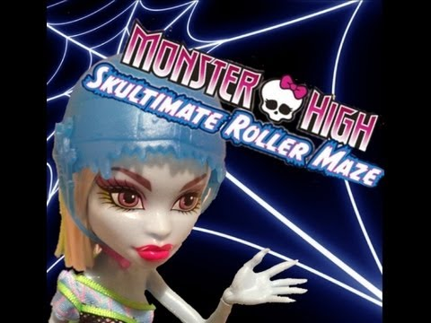 Abby roller maze doll review monster high