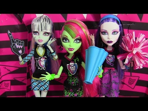MONSTER HIGH GHOUL SPIRIT VENUS FRANKIE SPECTRA DOLL REVIEW VIDEO !!! :D!!