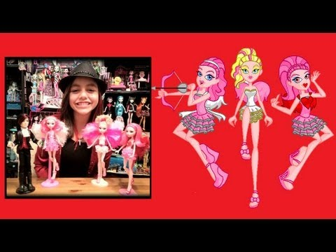 Monster High CUSTOM Dolls Valentine and Cupid Sisters